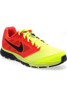 Tenis Masc Nike 630915-706 Zoom Fly Vermelho/Amarelo/Pto