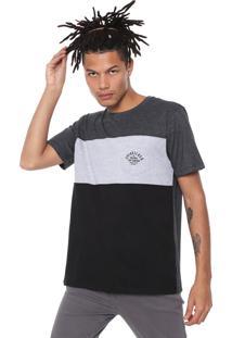 Camiseta Quiksilver Underwater Grafite/Cinza