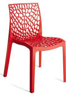 Cadeira Gruvyer Vermelho Or Design - Vermelho - Dafiti