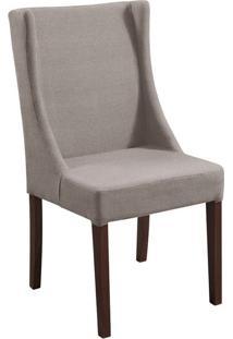 Cadeira De Jantar Sinar Couro Ecológico Marrom