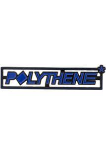 Polythene* Optics Botton Com Logo - Azul