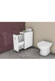 Balcão Para Banheiro Móvel Bento Branco