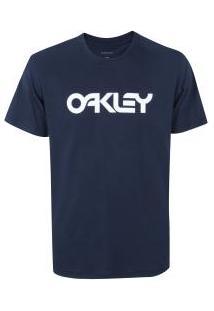 Camiseta Oakley Mark Ii Tee - Masculina - Azul Escuro