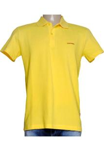 Camiseta Masc Dopping 015457504 Amarelo