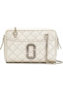 Marc Jacobs Bolsa Tiracolo The Status - Prateado