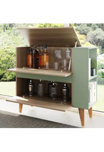 Bar Drink 3 Portas Basculantes Aveiro/Verde - Bentec
