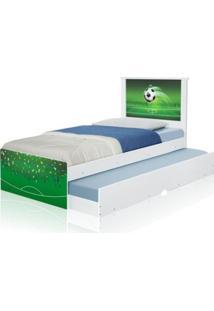 Cama Bicama Juvenil Adesivada Copa Futebol Casah