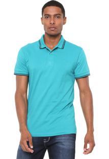 Camisa Polo Colcci Reta Básica Verde