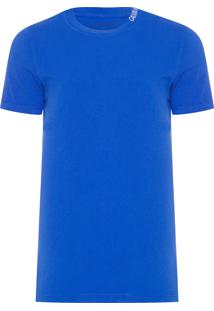 Camiseta Masculina Logo Gola - Azul