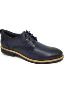 Sapato Casual Ferracini Bangkok Oxford Masculino - Masculino-Marinho