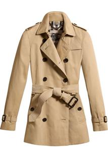 Burberry Trench Coat Kensington - Marrom