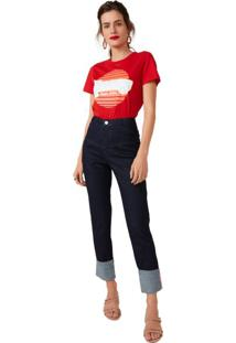 Calça Jeans Skinny Recortes