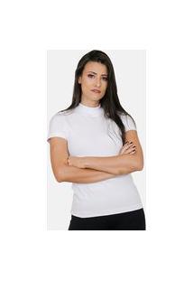 Blusa Feminina Básica Branca