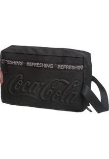 Necessaire Coca-Cola Active - Masculino-Preto