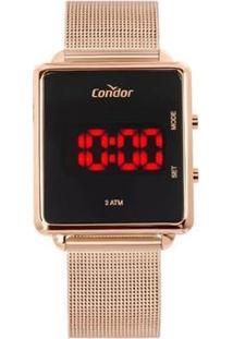 Relógio Condor Digital Cojhs31Bab/4J Feminino - Feminino-Rosa
