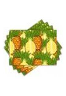 Jogo Americano - Abacaxi Com 4 Peças - 957Jo