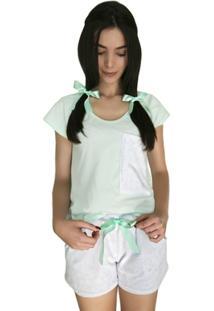 Pijama Curto Marétoa Chiclete - Feminino