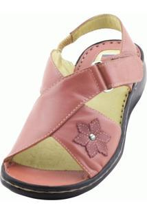 Sandália Doctor Shoes Comfort 293 Coral