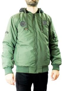 Jaqueta Masculina Dixie Nylon - Masculino-Verde