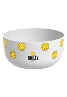 Cremeira E Tigela 300Ml Cozy Smiley Coza Branco Coza