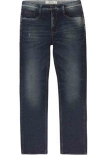 Calça Jeans Masculina Slim Eco Edition Em Algodão
