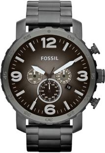 ... Relógio Fossil Nate Analógico - Masculino-Preto 12623d6d14