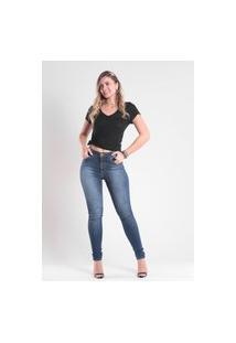 Calça 4026 Jeans Skinny Traymon Azul