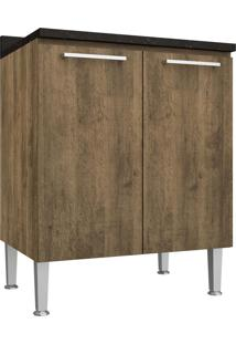 Balcão De Cozinha 70 Cm 2 Portas 0873 Demolição - Genialflex