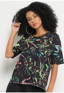 Camiseta Sommer Selva Feminina - Feminino