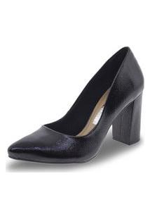 Sapato Feminino Salto Alto Via Marte - 182205.