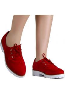 Sapato Bebecê Oxford Casual Verniz