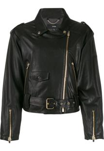 Arma Doris Lee Biker Jacket - Preto