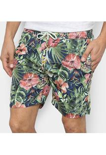 Short Nyc Norwich Yacht Club Palm Masculino - Masculino