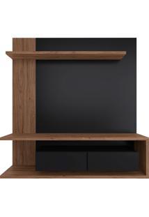 Painel Suspenso Para Tv De 65 Polegadas Com 2 Portas Est203-Estilare - Preto