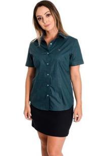 Camisa Pimenta Rosada Marielly - Feminino-Verde