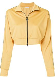 Chiara Ferragni Blusa De Moletom Cropped - Amarelo