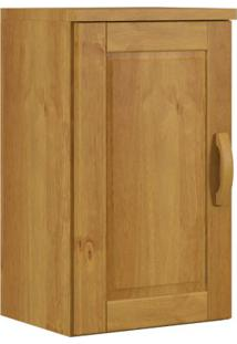 Armário De Cozinha Aéreo Finestra Jade 1307 01 Porta Nogueira