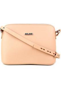Bolsa Colcci Mini Bag Paris Feminina - Feminino-Bege