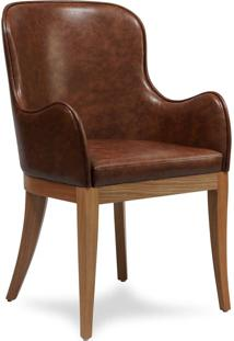 Cadeira Com Braço Mast Estrutura Madeira Pés Jequitibá Eco Friendly Design Scaburi