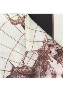 Givenchy Echarpe Com Estampa Astral - Neutro