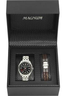 70c403b4e98 ... Kit Relógio Magnum Masculino - Masculino-Incolor