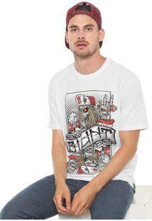 Camiseta Blunt Rei Card Branca