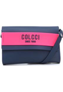 Bolsa Colcci Firenzi Azul-Marinho