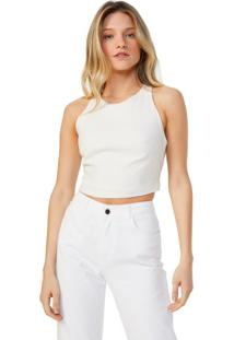Cropped Viscose Cruzado Costas