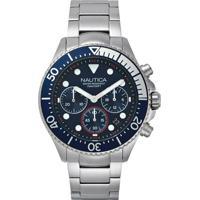 d6bbef339a8 Relógio Nautica Masculino Aço - Napwpc006