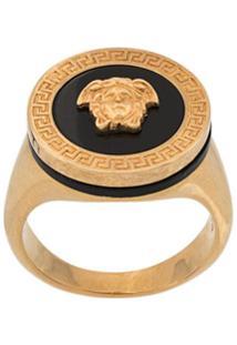 Versace Anel De Resina - Dourado