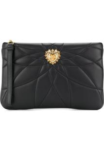 Dolce & Gabbana Clutch Devotion - Preto