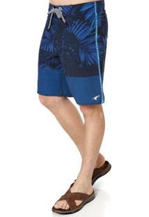 Bermuda Masculina Federal Art Azul