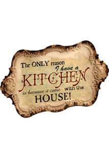 Quadro Decorativo De Parede Out Of Kitchen