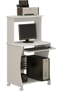 Mesa De Computador Ditália Branca Mc-133